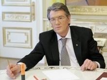 Ющенко считает необходимым увеличить объемы издания украинских книг