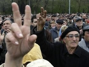 Молдавская оппозиция возложила на власть ответственность за беспорядки