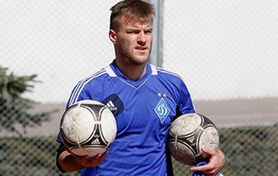 Андрей Ярмоленко в отпуске набрал лишний вес