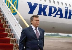 Янукович поездит по Украине и уйдет в отпуск