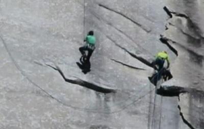 Американские скалолазы завершили 19-дневный подъем на Эль-Капитан