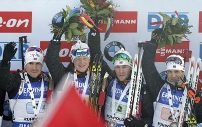 Биатлон: Норвежцы блестяще выиграли эстафету на этапе Кубка мира в Рупольдинге