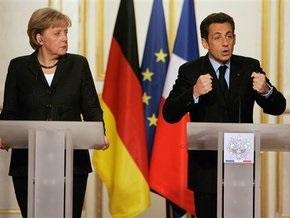 Саркози и Меркель призвали Россию помнить о своих обязательствах, а Украину - о евроустремлениях
