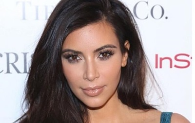 Ким Кардашьян показала свое детское фото