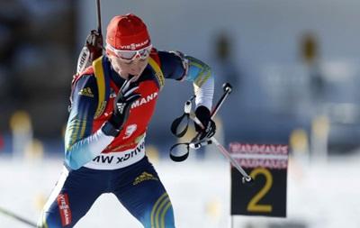 Биатлон: Валя Семеренко остановилась в шаге от пьедестала на этапе Кубка мира