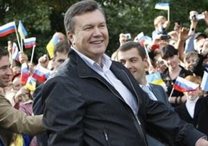 Янукович: На украинско-российской границе нужно обустроить около 100 пешеходных переходов