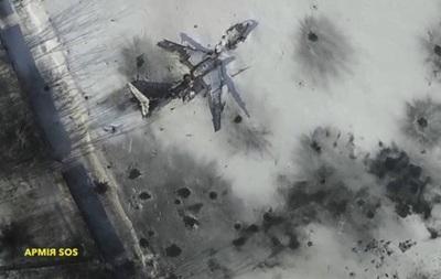 Бои за Донецкий аэропорт: взорвана взлетная полоса