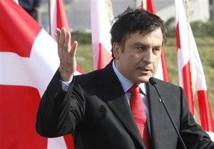 Саакашвили: Если какие-то политики - чморье, Грузия никогда не будет зачморена