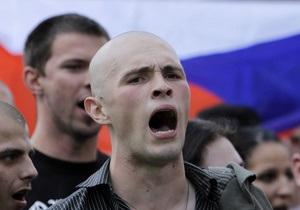Антицыганский марш в Чехии завершился драками и арестами
