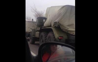 В Донецк вошла большая колонна  Градов  - очевидцы