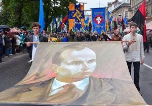 День Героев - ОУН-УПА - Во Львове и Ивано-Франковске прошли торжественные мероприятия по случаю Дня Героев