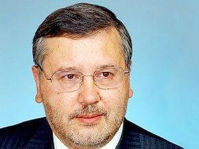 Гриценко назвал решение Ющенко о роспуске ВР  преступлением