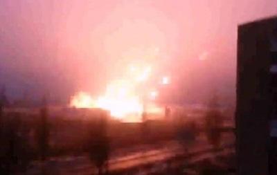 Очевидцы сняли на видео стрельбу из  Градов  близ жилых домов