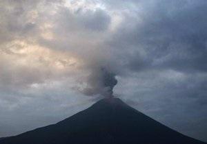 В Никарагуа началось извержение самого активного вулкана страны