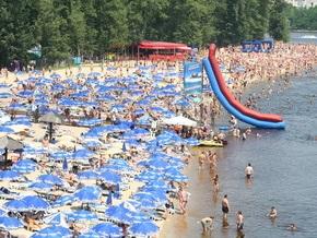 В Киеве планируют открыть 10 новых пляжей