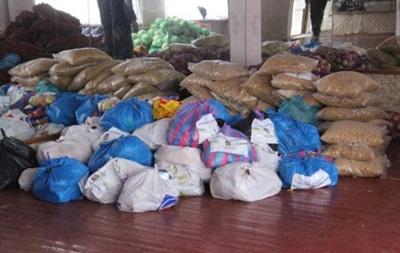 В Авдеевку и Дебальцево доставили продукты питания