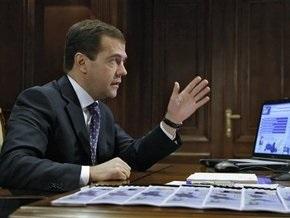 Медведев пригрозил губернаторам увольнением