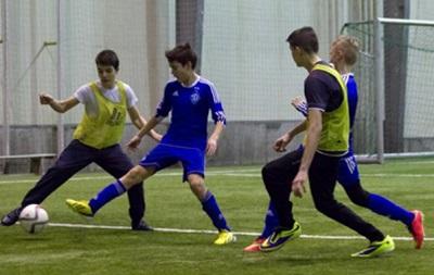 Юные футболисты Динамо сыграли против детей из зоны АТО