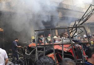 Жертвами терактов под Дамаском стали более 20 человек