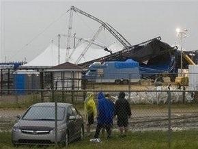 В Канаде при обрушении сцены пострадали 75 человек