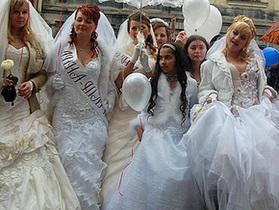 Завтра в Севастополе состоится парад невест