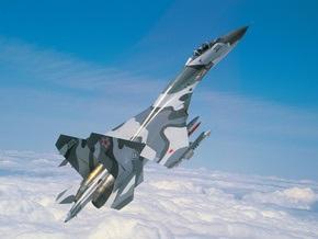 Белорусский Су-27 разбился на авиашоу в Польше
