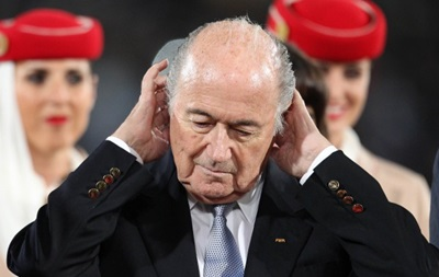 Официально: Блаттер выдвинул кандидатуру на пост президента FIFA