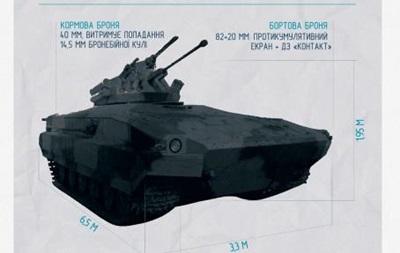 Украинские конструкторы разработали гибрид танка и БМП