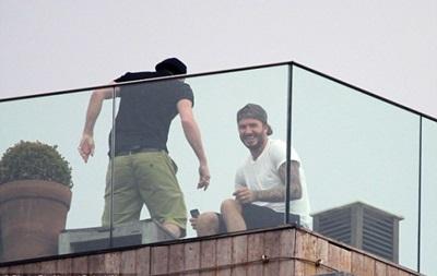 Звездный сосед: Дэвид Бекхэм переехал в трущобы Рио-де-Жанейро