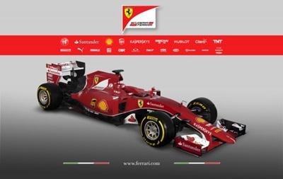 Ferrari показала машину Феттеля и Райкконена в новом сезоне Формулы-1