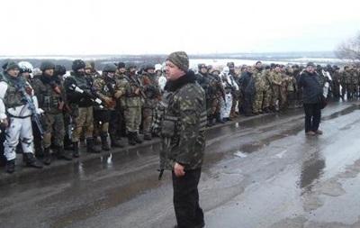 Семенченко получил контузию под Углегорском