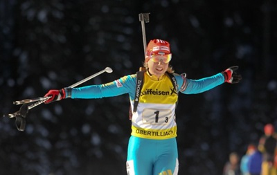 Биатлон: Украинка Меркушина стала двукратной чемпионкой Европы среди юниоров