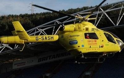 Английский игрок был доставлен в госпиталь на вертолете прямо с поля