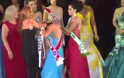 Мисс Амазонка 2015: Конкурсантка сорвала с победительницы корону