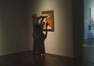 В США вандал изуродовал картину Пикассо