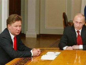 Миллер пообещал, что Газпром не будет штрафовать Украину