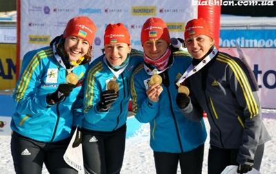 Украина стала второй в медальном зачете на ЧЕ по биатлону, уступив только России