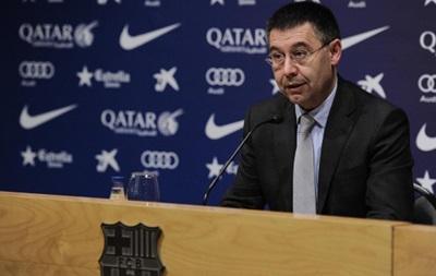 Президент Барселоны: За  делом Неймара  может стоять Реал