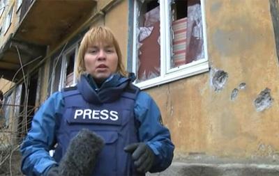 Донецк под обстрелом - репортаж BBC