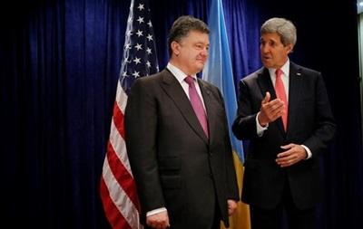 Порошенко и Керри выступят с совместным заявлением