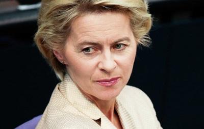 Министр обороны Германии выступила против поставок оружия Украине