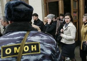СМИ: В Москве задержали подозреваемого в организации новых терактов в метро
