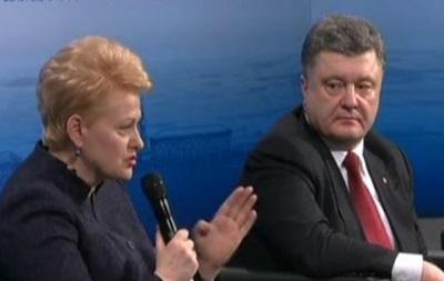 Грибаускайте: Если предадим Украину, следующими будем мы