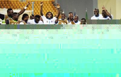 Форвард Динамо поблагодарил болельщиков за поддержку на Кубке Африки