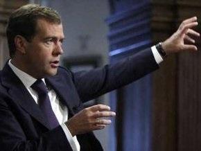 Медведев призывает НАТО  задуматься  о целесообразности вхождения в альянс Украины и Грузии
