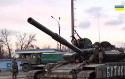 СМИ показали позиции украинских военных под Дебальцево