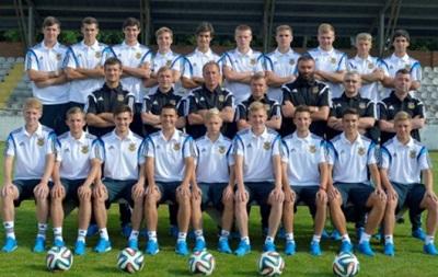 Юношеская сборная Украины начнет выступление на ЧМ-2015 матчем с хозяевами
