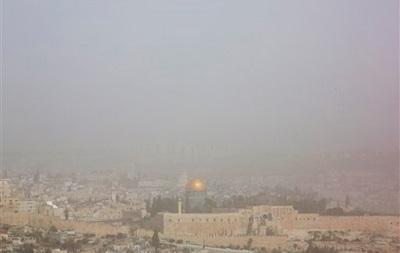 На Израиль обрушилась самая мощная за последние пять лет пыльная буря