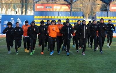 Шахтер начал подготовку к матчу 1/8 финала Лиги чемпионов