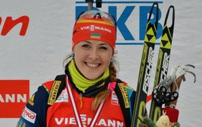 Биатлон: Джима получила цветы в индивидуальной гонке в Норвегии